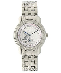 Lucien Piccard 'Celestial' Men's Diamond Watch