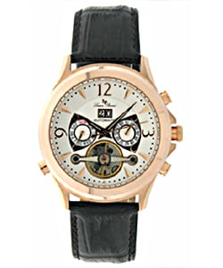 Lucien Piccard San Michel Rosetone Automatic Watch