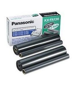 Panasonic KX-FA136 Fax Replacement Ribbon (2 Rolls)