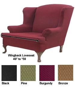 wingback loveseat - get domain pictures - getdomainvids.com