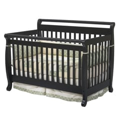 Emi Ebony 4-in-1 Crib