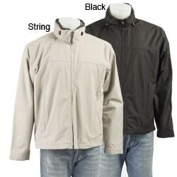 London Fog Men's Moto Dobby Hipster Jacket $25 shipped  Reg. $100 - Overstock P11155583