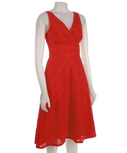 Liz Claiborne Tulip Red Dress