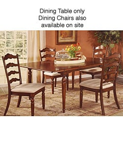 Overstock - English Holly Dining Table - $124.99