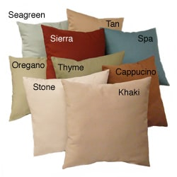 Cotton/ Polyester Large Floor Throw Pillow