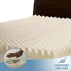 Highloft 4-inch Memory Foam Mattress Topper