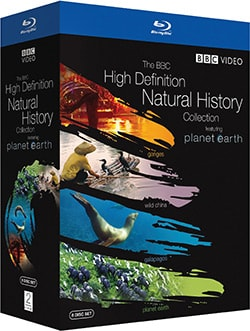 BBC High Definition Natural History Collection 4-Disc Box Set (Blu-ray Disc)