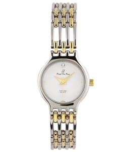 Paul Du Pree Women's 'Famous Look' Diamond Quartz Watch