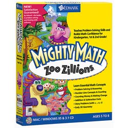 Mighty Math: Zoo Zillions Educational Software
