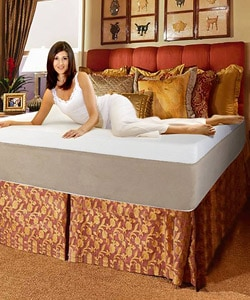 Queen 17-inch Pillow Top Memory Foam Mattress