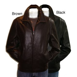 Collezione Men's New Zealand Lamb Leather Jacket