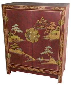 Red Lacquer Cabinet (China)