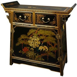 Lacquer Altar Cabinet (China)