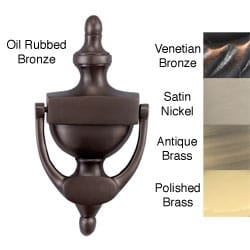 Traditional Style 8-inch Solid Brass Door Knocker
