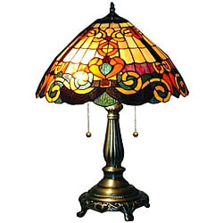 Tiffany-style San Fran Table Lamp