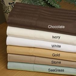 Luxury Manor 800 Thread Count Stripe Cotton Sheet Set