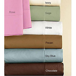 Egyptian Cotton 330 Thread Count Percale Sheet Set
