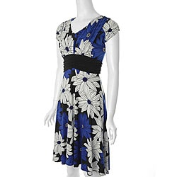 Adi Designs Women's J-California Floral Dress from Overstock.com :  floral overstock womens adi designs