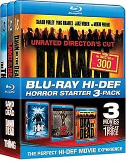Horror Starter Pack (Land of the Dead / Dawn of the Dead / The Thing) (Blu-ray Disc)