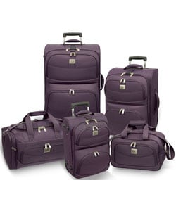 Traveler's Choice Edinburg 5-piece Luggage Set