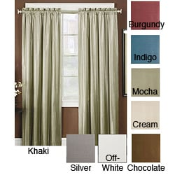 Thermal Backed Iridescent Blackout Curtain Panel Pair