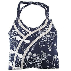 Handmade Dress Design Cotton Handbag (China) from Overstock.com :  handbag handmade overstock cotton