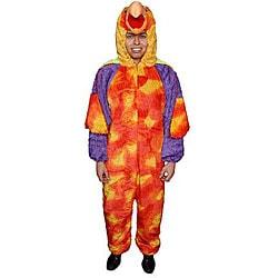 Adult Parrot Jumpsuit Costume