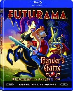 Futurama: Bender's Game (Blu-ray Disc) 4039863