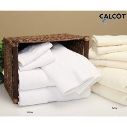 Calcot Supima Z-twist Towels (Set of 6)