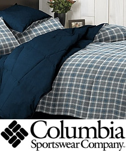 Columbia Cabin Plaid 3-piece Mini Comforter Set