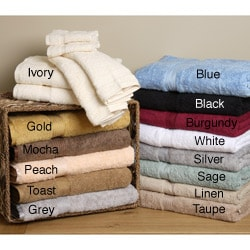 Egyptian Cotton Face Cloth Towels (Set of 10)