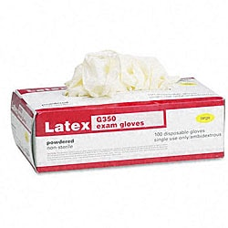 Galaxy Disposable Latex Exam Gloves (Case of 100)