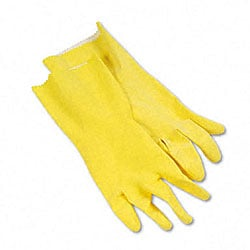 Galaxy Latex Cleaning Gloves (Pack of 12)