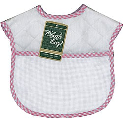 Quilted Gingham Baby Bib