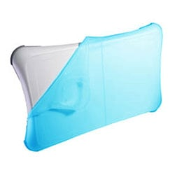 Blue Silicon Skin Cover for Nintendio Wii Fit