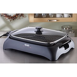 DeLonghi BG24 PerfectO Indoor Grill with Glass Lid