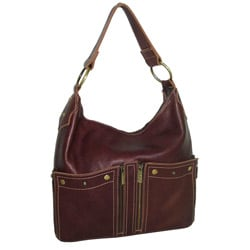 Amerileather Caroline Leather Shoulder Bag
