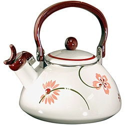 Corelle Coordinates Pretty Pink Whistling Teakettle 4238410