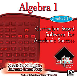 High Achiever Algebra 1 Software