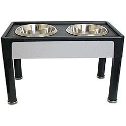 Signature Series 14-inch Black Pet Diner