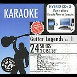 All Star Karaoke: Guitar Legends Vol. 1 [Digipak]