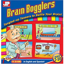 Junior Professor Brain Bogglers Software
