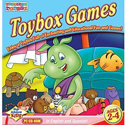 Toddler's Toybox Games Rainbow Playroom Software