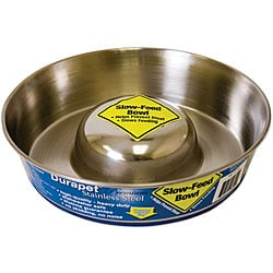 Durapet Large Slow-feed Pet Bowl