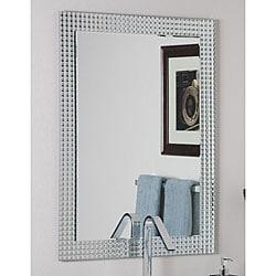 Frameless Disco Wall Mirror