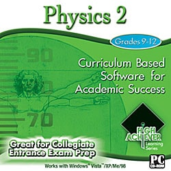 High Achiever Physics 2 Educational Software