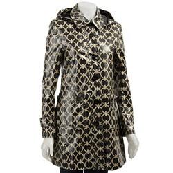 Miss Sixty Women's Balmacaan Trench Coat