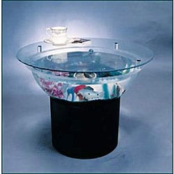 Overstock - Aquarium 24-inch End Table Set - $127.99