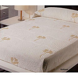 Hybiscus Bedspread Set