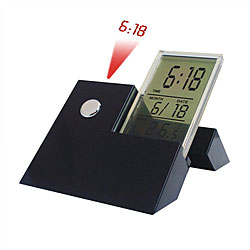 Overstock - Projection Alarm Clock with Calendar and Melodies - $16.65